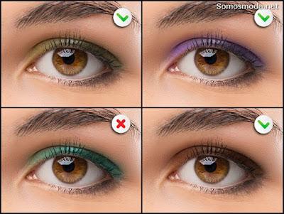 Sombras para ojos negros