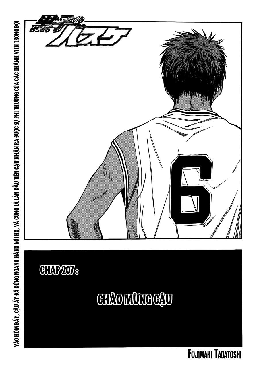 Kuroko No Basket chap 207 trang 1