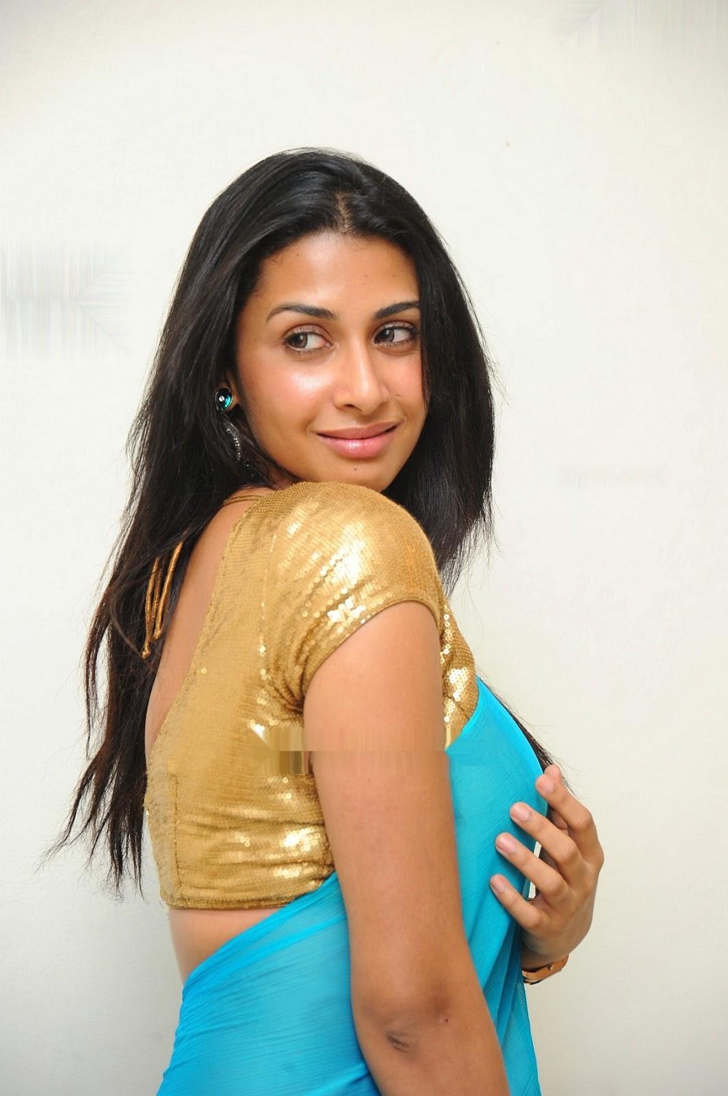 South Indian Film Actress Gayathri Iyer Beautiful Saree