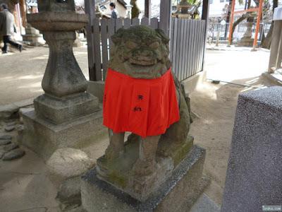 菅原天満宮狛犬