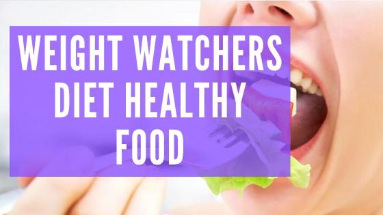 Weight Watchers Diet Nutrition