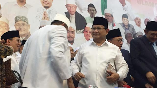 Berikut 17 Poin Pakta Integritas Prabowo dan Ijtima Ulama II