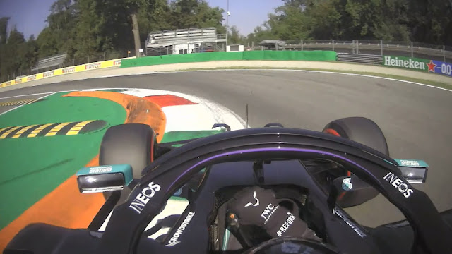 Lewis Hamilton Monza 2020
