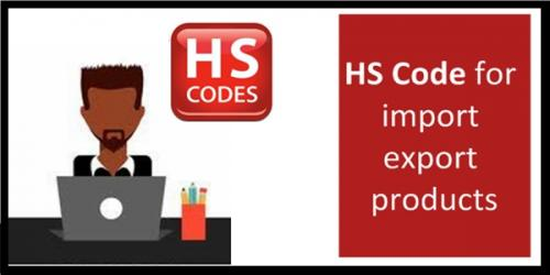 HS codes and import export
