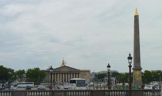 Plaza de la Concordia o Place de la Concorde de París.