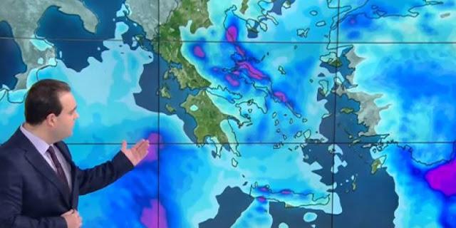 Ραγδαία επιδείνωση του καιρού με βροχές και τα πρώτα χιόνια - Πότε έρχεται στην Αργολίδα το τσουχτερό κρύο