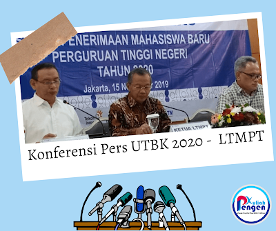 Rekap informasi Press Conference LTMPT 24 Juni