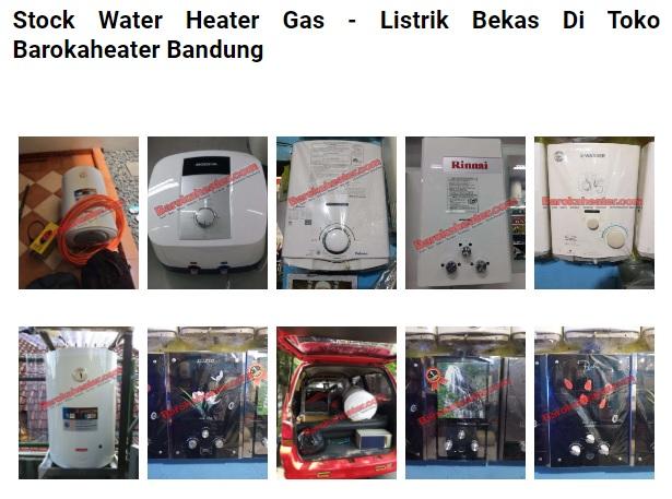 Tempat Jual Beli Water Heater Bekas Bandung