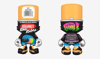 Oxnard Orange SuperKranky Vinyl Figure by Sket One x Superplastic