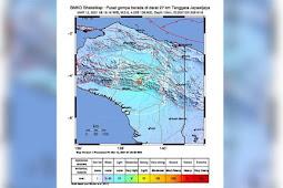 Gempa Lagi di Tanah Papua, Kesembllan Selama Sepekan Ini