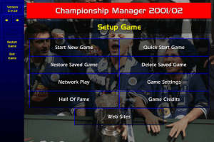 Free Download and Play Game Championship Manager 2001/2002 (CM 01/02) for Computer or Laptop