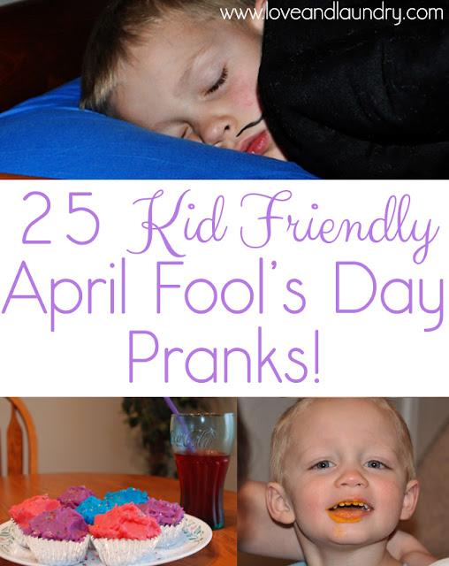 Best April Fools Pranks For Kids 2019
