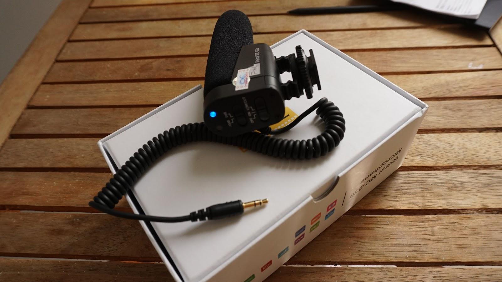 Micro thu âm PIXEL Voical MC 550