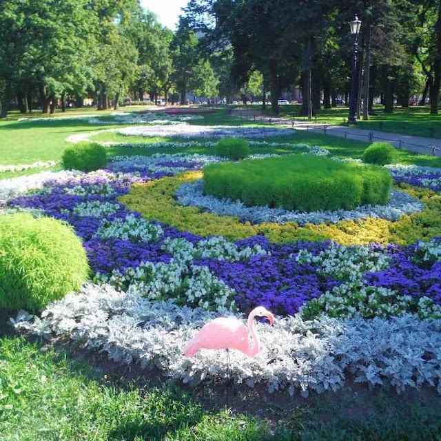 The Alexander Garden, St. Petersburg
