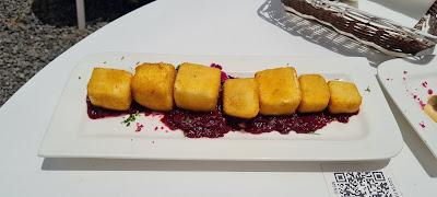 Queso frito - Restaurante Costa Famara