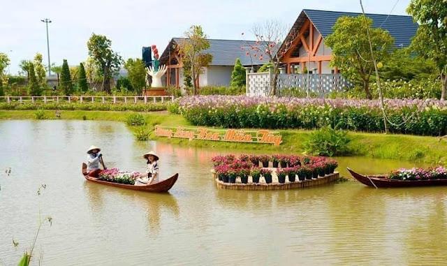 vườn hồng tư tôn làng hoa sa đéc