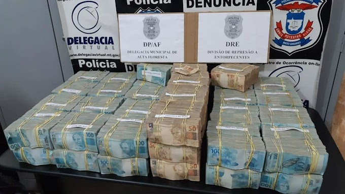 Avião pilotado por italiano é apreendido com R$ 4,6 milhões no Brasil