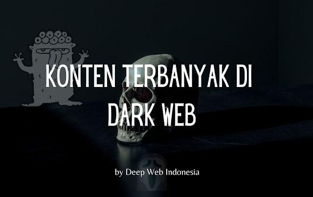 Kontek Terbanyak Dark Web