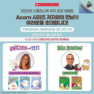 Scholastic Korea Instagram Live