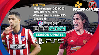Download eFootball PES 2021 PPSSPP Chelito V2 Full Transfer & Fix Camera Cursor PS5 Terbaru