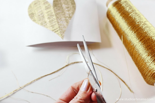 DIY Elegant Valentine's day cards