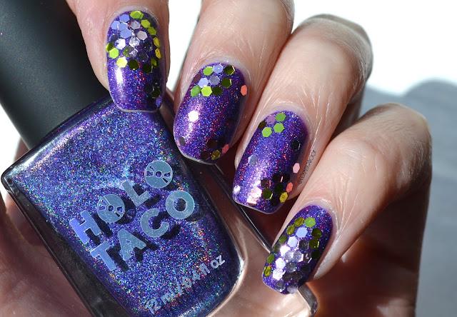Holo Taco Purple Slushie with Glequins