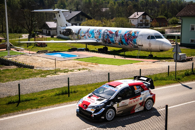 Toyota Yaris rally car