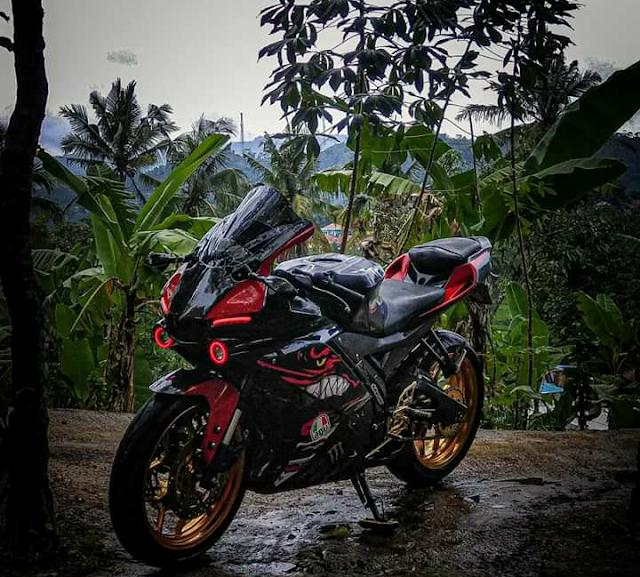 Modifikasi Yamaha R15 Jadi R1