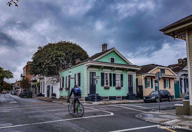 Rua do Faubourg Marigny, Nova Orleans