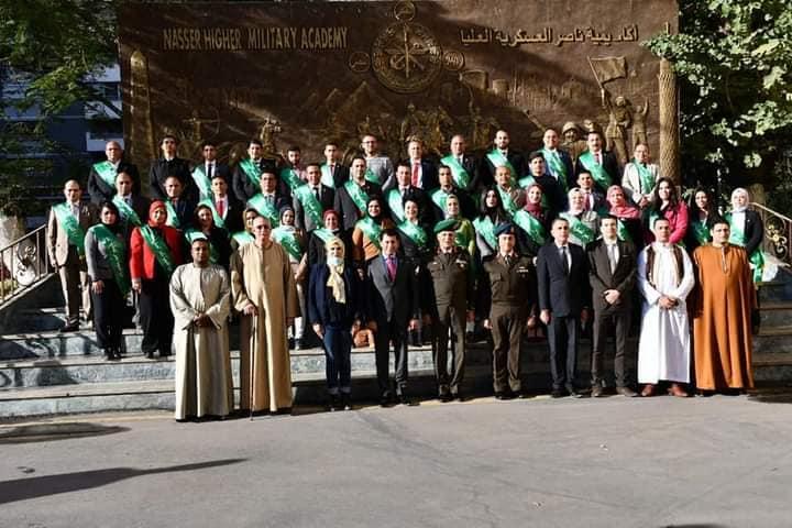 وزير الشباب يشهد حفل تخرج دورة الإستراتيجية والأمن القومي / الأهرام نيوز