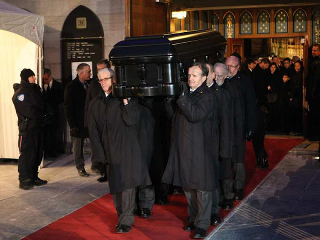 Rene Angelil Funeral Photos Celine Dion S Late Husband