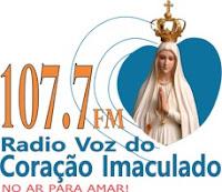 Rádio Voz do Coração Imaculado FM 107,7 de Anápolis GO