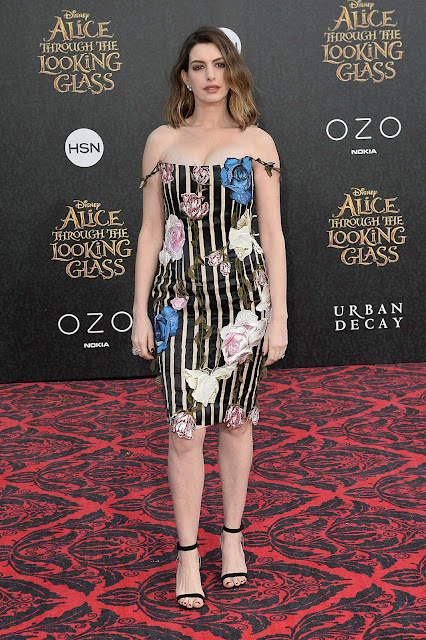 Actress, Singer, @  Anne Hathaway - Alice Through The Looking Glass Premiere in Hollywood