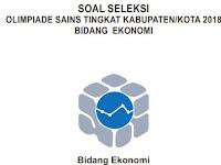 Soal OSK Ekonomi 2018  dan Kunci Jawaban