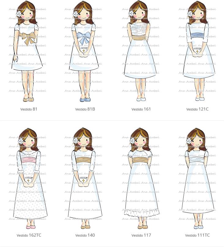 modelos comunion catalogo
