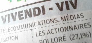 action Vivendi dividende exercice 2020