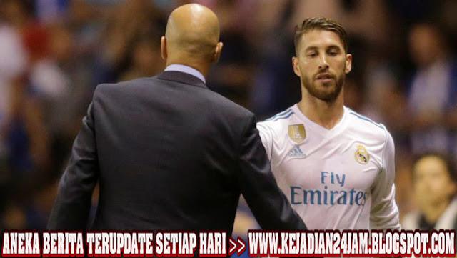 Bek Sergio Ramos Minta Izin Hengkang Dari Real Madrid
