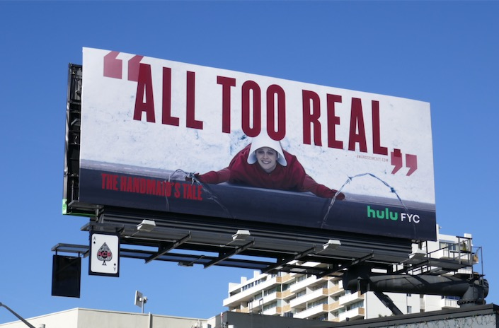 Handmaids Tale season 3 All too real FYC billboard