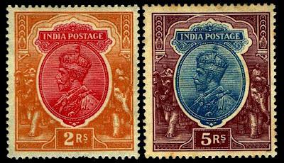 1926-32 India  King George
