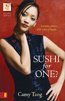 Book cover of Sushi for One? by Camy Tang