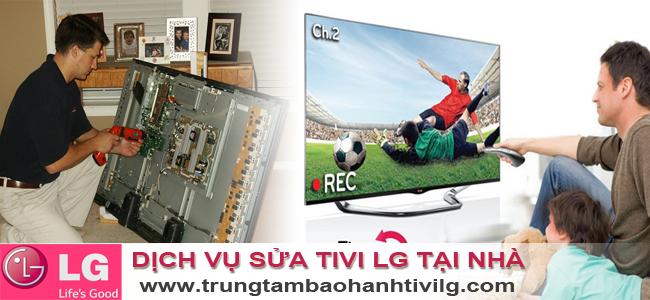 Dịch vụ sửa chữa tivi LG tại nhà Hà Nội