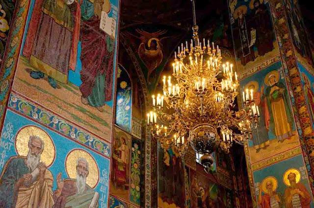 Interior Iglesia del Salvador sobre la Sangre Derramada