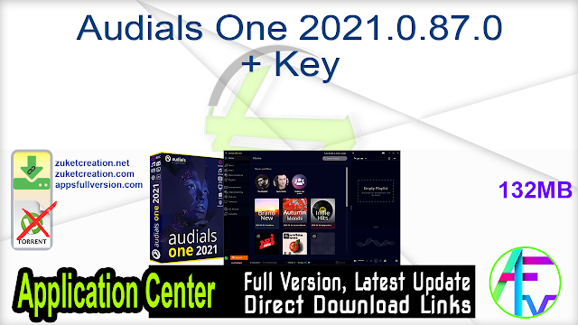 Audials One 2021.0.87.0 + Key