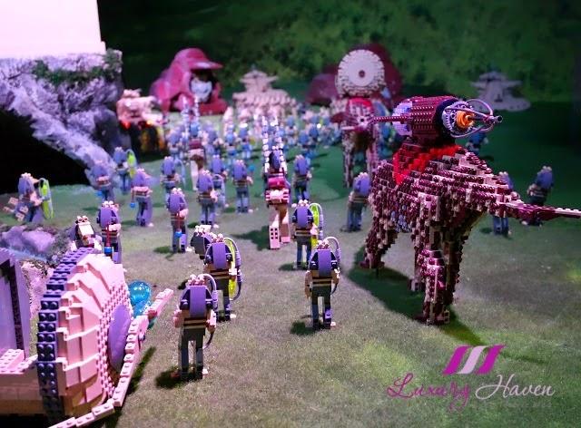 lego star wars miniland model display naboo battle