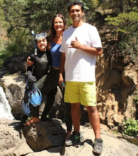 Kelly Wiglesworth with friend and her son