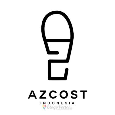 Azcost Footwear Logo Vector