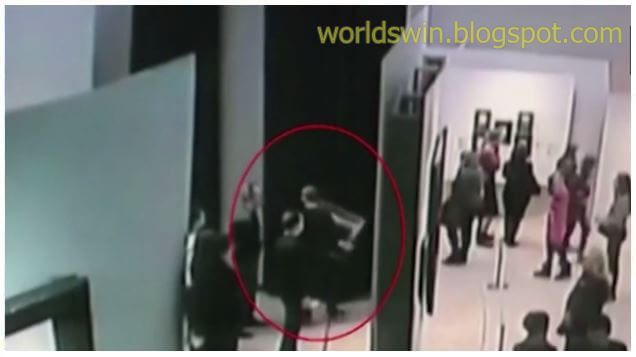 A young Russian man steals a $ 3 million painting