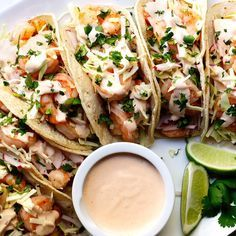 Shrimp Tacos #recipes #pizza #pizzarecipe #food #foodporn #healthy #yummy #instafood #foodie #delicious #dinner #breakfast #dessert #lunch #vegan #cake #eatclean #homemade #diet #healthyfood #cleaneating #foodstagram