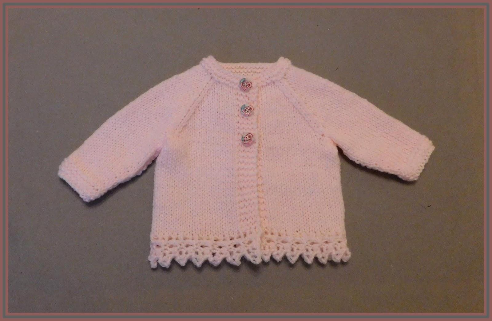 Knitting Patterns For New Baby Cardigans : mariannas lazy daisy days: ENYA Baby Cardigan Jacket