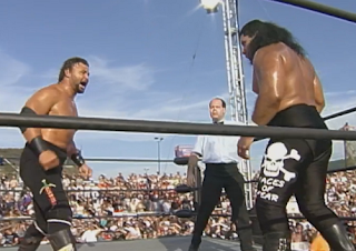 WCW Road Wild 1998 Review: Former Faces of Fear partners Meng & Barbarian faced each other